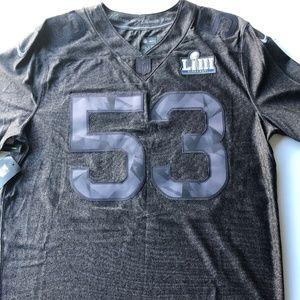 Nike Super Bowl LIII 53 Limited Stitched Jersey XL